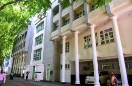 The President's Office in capital Male' City. FILE PHOTO/MIHAARU