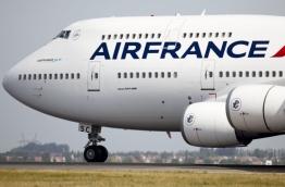 An aircraft of Air France. PHOTO/AFP