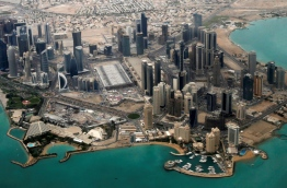 An aerial view of Doha's diplomatic area © Fadi Al-Assaad / Reuters