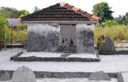 Gen Miskiyy -  One of the oldest mosques in Fuvahmulah. PHOTO: HAWWA AMAANY ABDULLA / THE EDITION