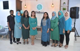First Lady Fazna Ahmed officially inagurated the mental health facility Thibaa Psychology. PHOTO: PRESIDENT'S OFFICE