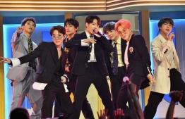 Popular K-pop group BTS performed in Saudi Arabia on October 11, 2019. PHOTO/ALLKPOP