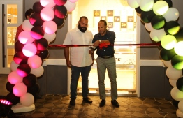 A photograph taken at the opening ceremony of Mövenpick's outlet. PHOTO: MARCOMMS
