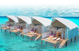 Water Villas at Cinnamon Hakuraa Huraa resort. PHOTO/CINNAMON HOTELS